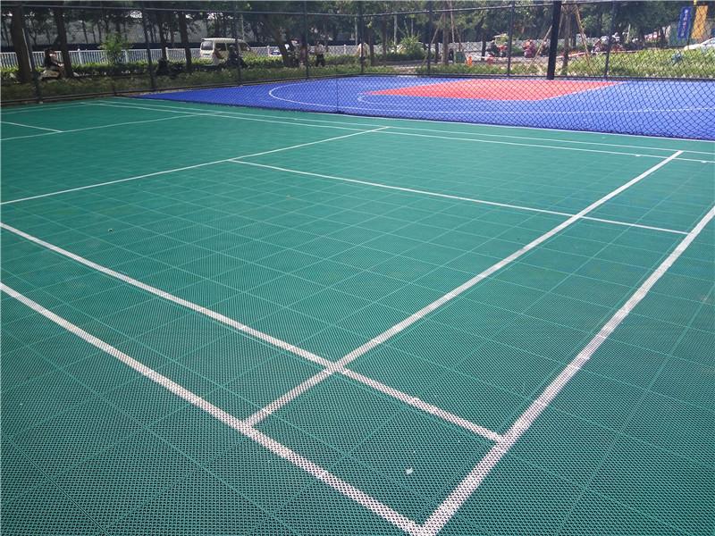 羽毛球场-工程<南宁市某体育超市>