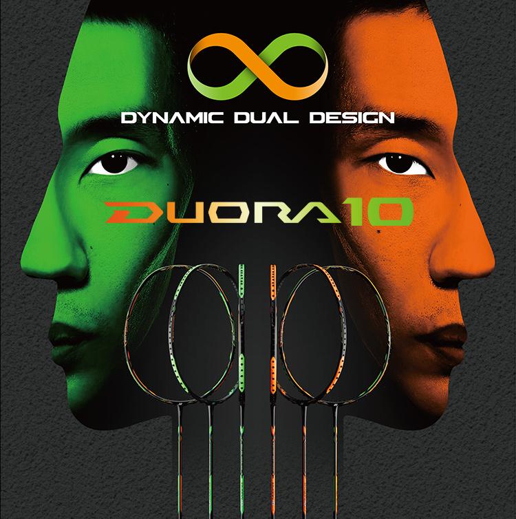 YONEX-DUORA10(橙绿)