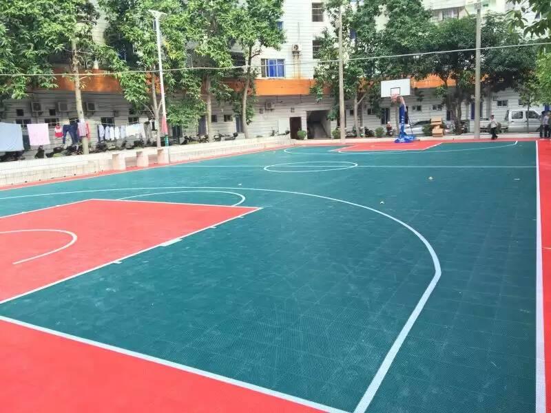 篮球场地-工程<柳州市某单位>