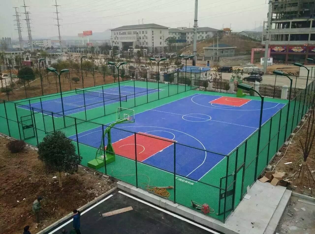 篮球场地-工程<南宁市某学校>