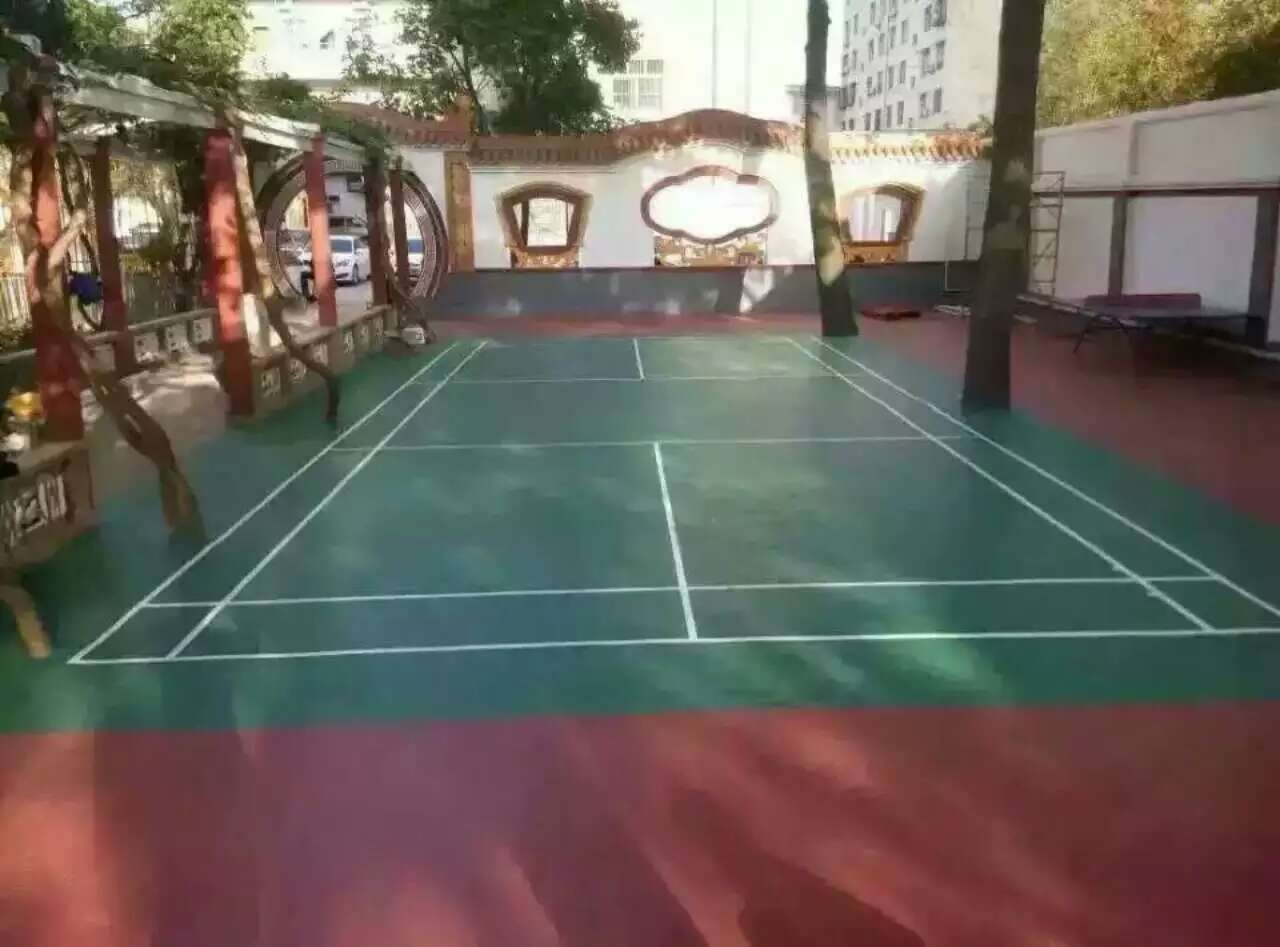 羽毛球场-工程<桂林某单位>