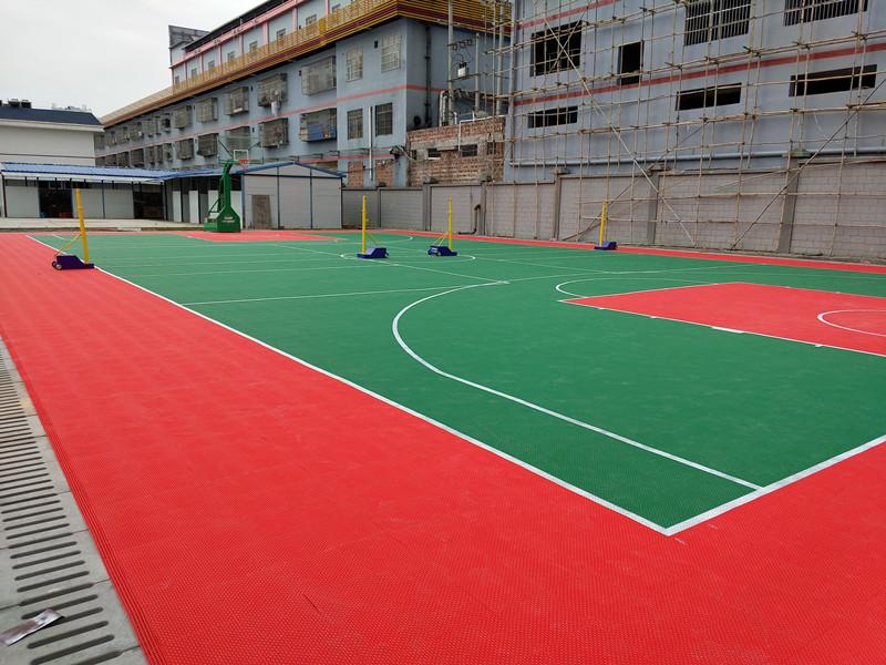 篮球场地-工程(百色市区医院)