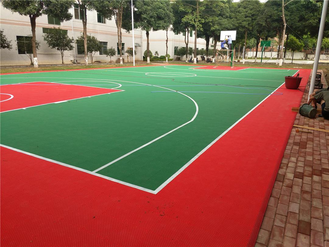 篮球场地-工程<广西南宁军区>