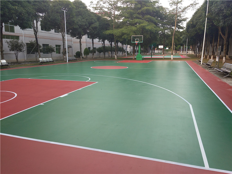 篮球场地-工程<北海市职业学校>