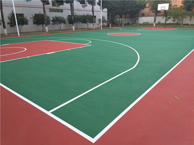 篮球场地-工程(南宁广西大学新校区)