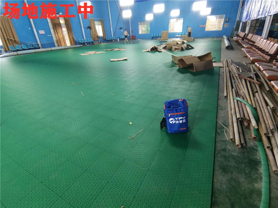 羽毛球场-工程<广西平果铝球场改造>