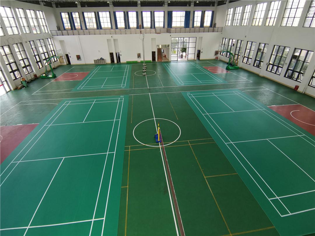 羽毛球场-工程<南宁高新中学球场>