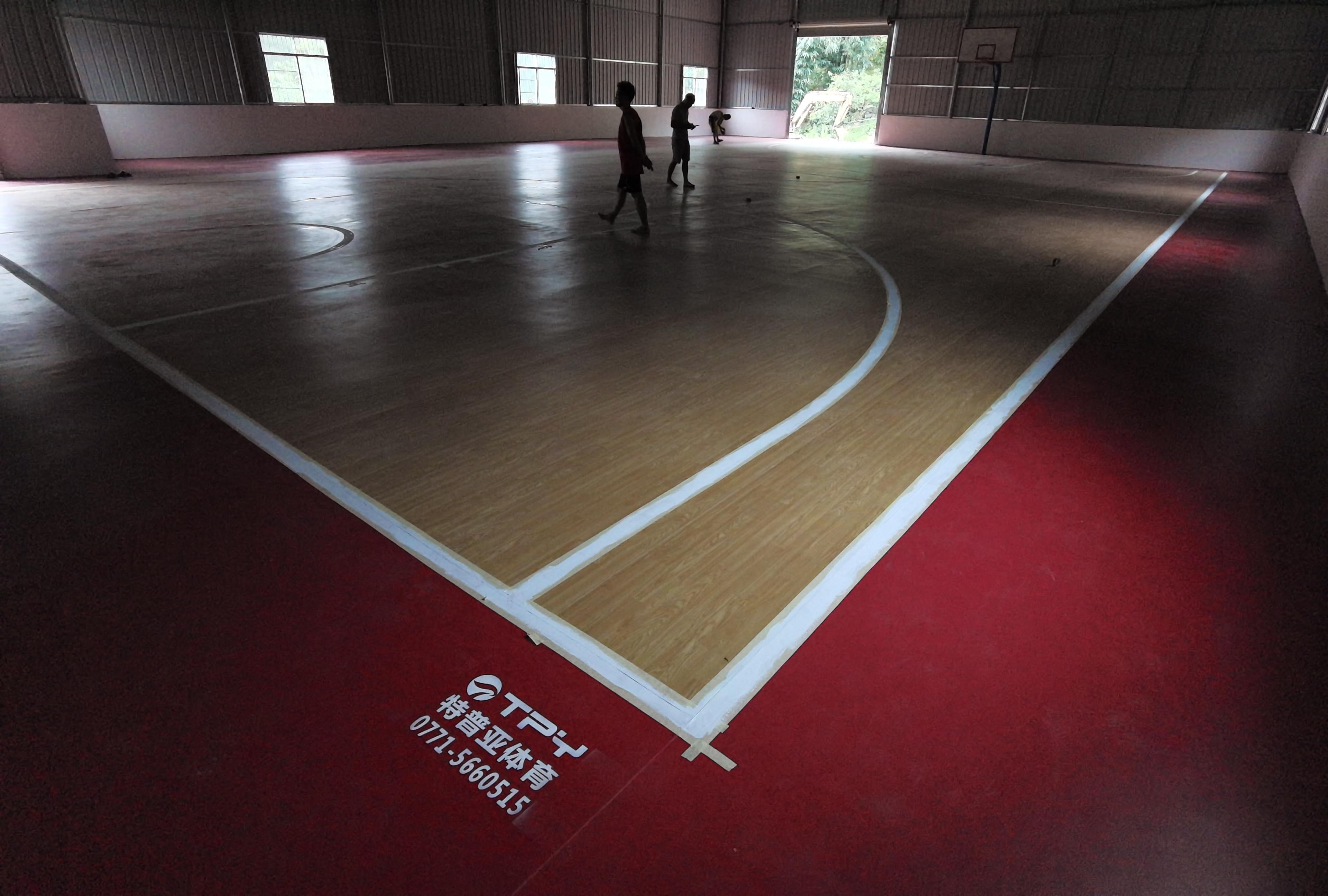 篮球场地-工程<高龙人民政府>